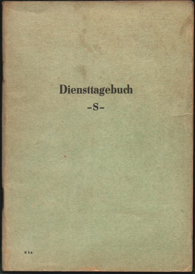 diensttagebuch-Titel